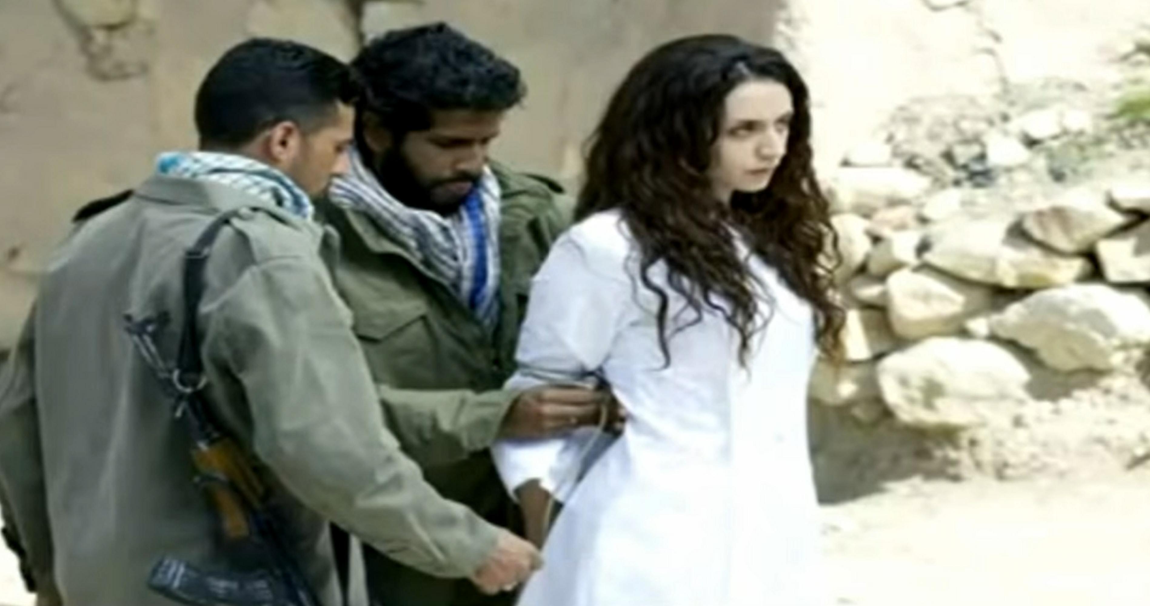 Christliches Mädchen, das muslim Kerl