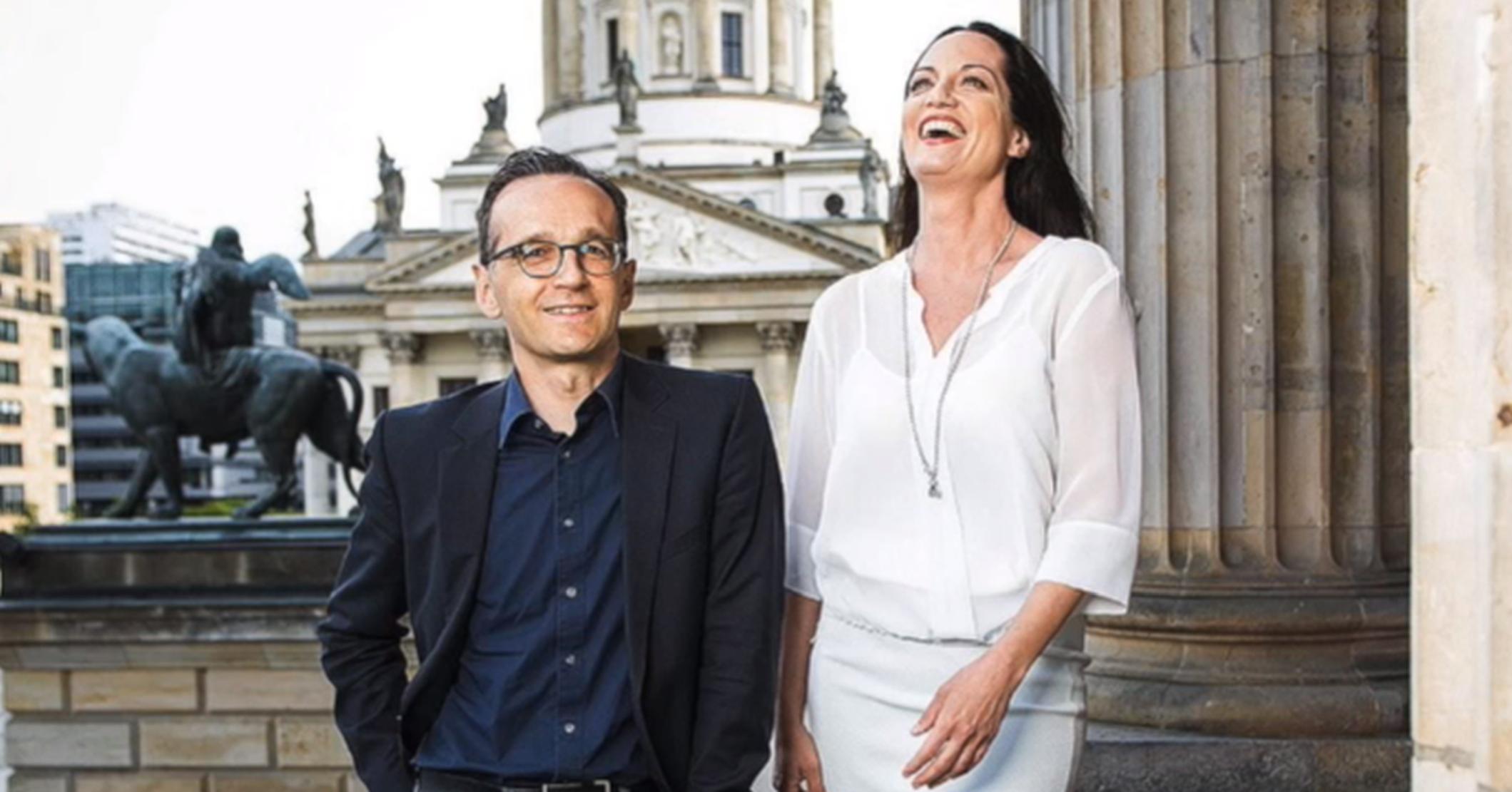 Heiko Maas Und Natalia Wörner