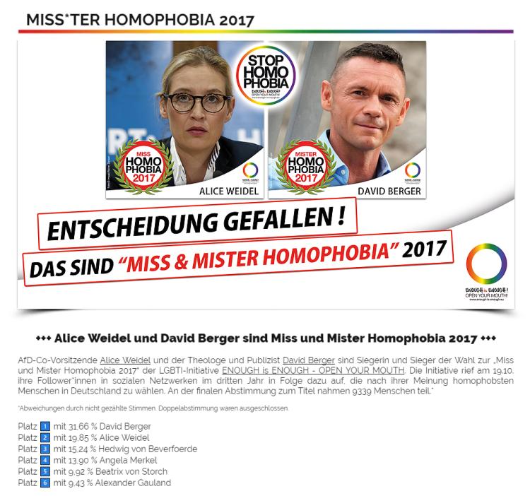 Miss Homophobia