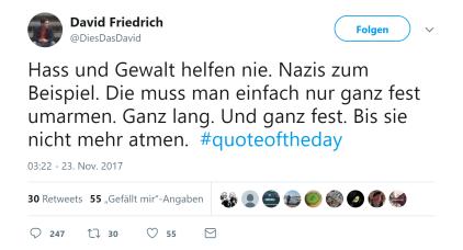 Nazis drücken
