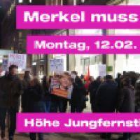 Hamburg erhebt sich: Merkel muss weg!
