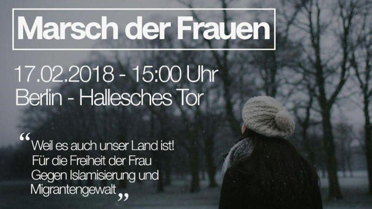 Kommt nach Berlin zum Marsch der Frauen! - Wie aus verwöhnten, weltfremden Kindern Terroristen wurden, die gestoppt werden müssen