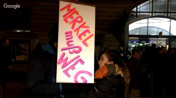 Hamburger Merkel-muss-weg-Demo: Vermummte verprügeln 67-Jährigen