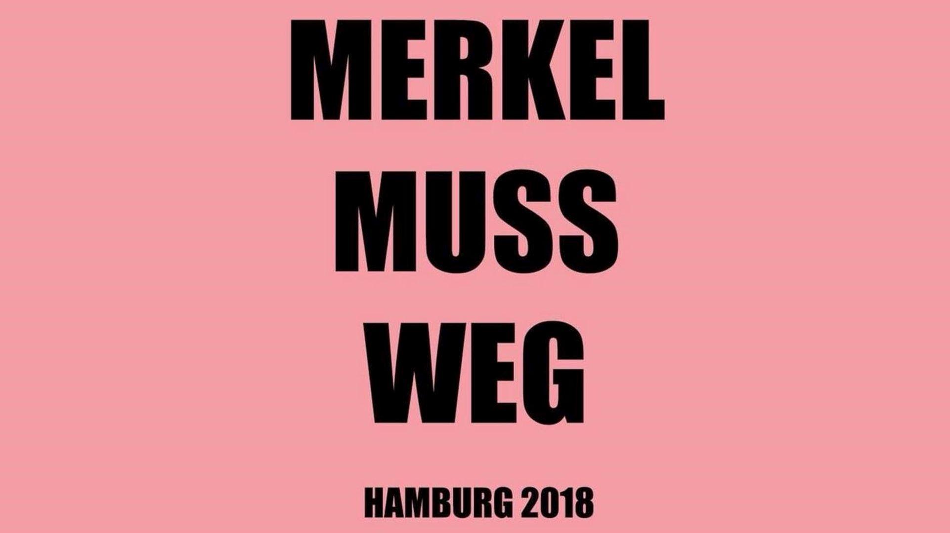 Gastredner Auf Der Hamburger Merkel Muss Weg Demo Am 26032018