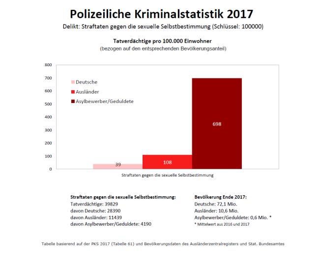 Straftaten gegen die sexuelle Selbstbestimmung_PKS2017