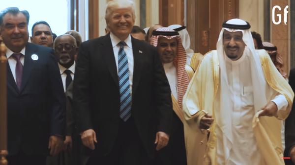 Trump+König Salman