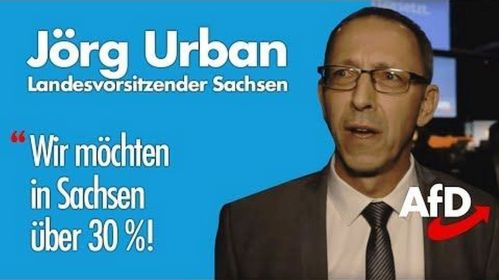 Jörg Urban 30 % blau