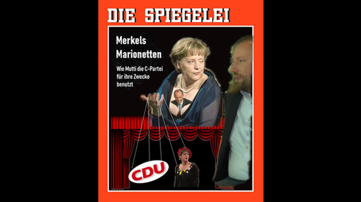"""Nach """"Putins Puppen"""" jetzt """"Merkels Marionetten"""" – JFB leakt Spiegeltitel der kommenden Woche"""