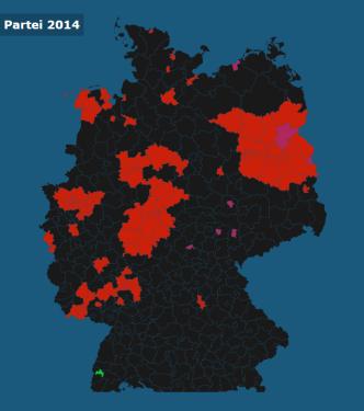 Stärkste Partei 2014 (2)