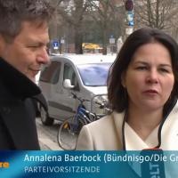 Grüne fallen wieder hinter CDU/CSU zurück