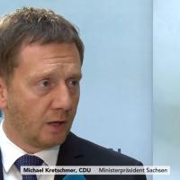 Sachsen: CDU fällt hinter AfD zurück, SPD steuert auf 5 Prozent zu