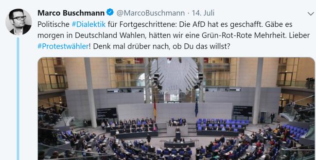 Marco Buschmann - AfD ist schuld