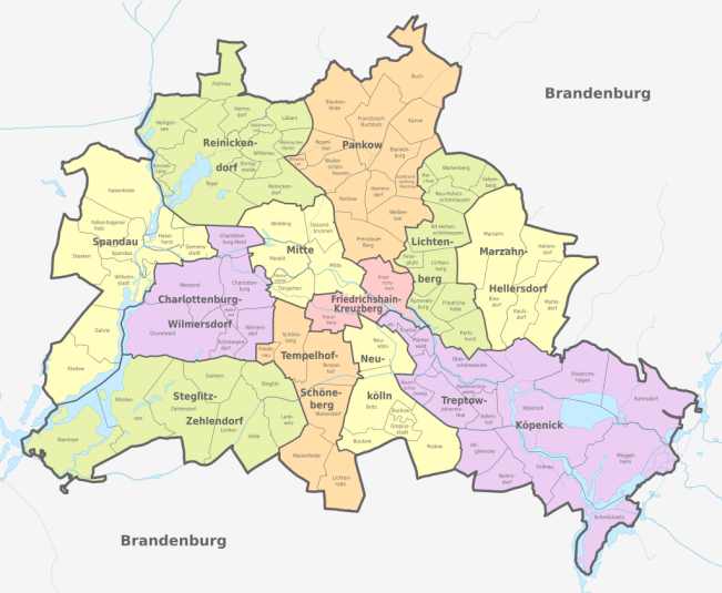 Berlin-Stadtteile
