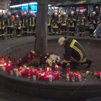 Erschlagener Feuerwehrmann in Augsburg: Mutmaßlicher Täter ist Türke, Libanese und Deutscher