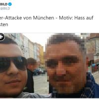 Messerattacke in München: Der Angreifer wollte einfach einen Polizisten töten