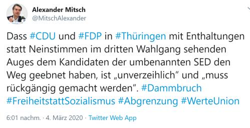 Thüringenwahl rückgängig machen