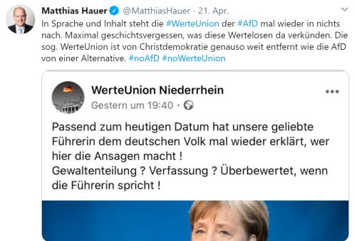 Merkel Führerin