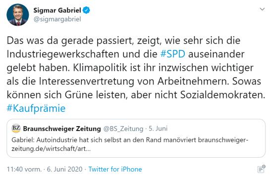 Sigmar Gabriel - auseinander gelebt