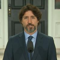 21 Sekunden Schweigen als der kanadische Premierminister auf Trump angesprochen wird