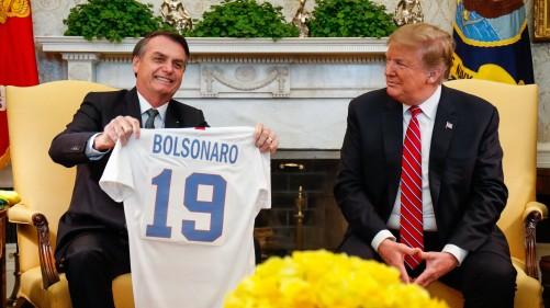 Encontro com o Senhor Donald Trump, Presidente dos Estados Unido