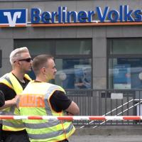 Banküberfall mit Schusswechsel in Berlin-Wilmersdorf