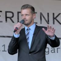 Florian Schroeder auf der Corona-Demo: Wahrheit - Freiheit - Satire