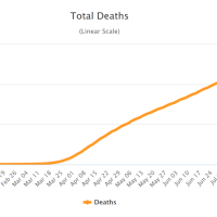 COVID-19: Zahl der Todesfälle steigt auf über 700.000