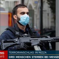 Terroranschlag in Nizza: 70-jährige Frau in Kirche enthauptet