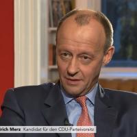 Friedrich Merz siegesgewiss, die jetzigen AfD-Anhänger aber sieht er zum Großteil als verloren an