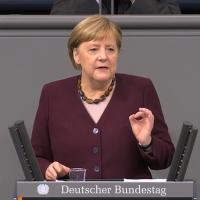 """Merkels Regierungserklärung: """"Der Winter wird schwer, aber er wird enden"""""""