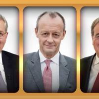 Ergebnis durchgeführter CDU-Mitgliederbefragungen: 63,8 Prozent wollen Friedrich Merz