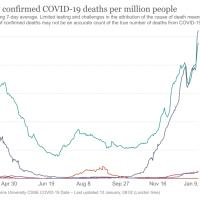 Corona: Deutschland überholt Italien und die USA im Sterben