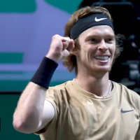 ATP 500 king Rublev also wins in Rotterdam