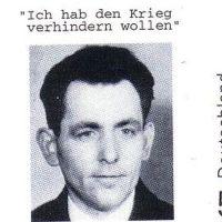 Heute vor 76 Jahren im KZ Dachau ermordet: Georg Elser
