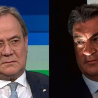 Söder zerlegt den CDU-Chef, dieser giftet zurück