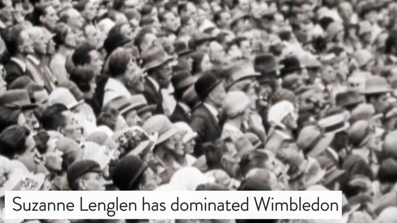 dominating Wimbledon