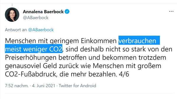 CO-2 verbrauchen