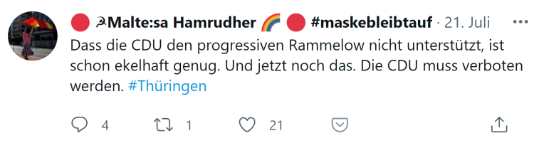 CDU verbieten