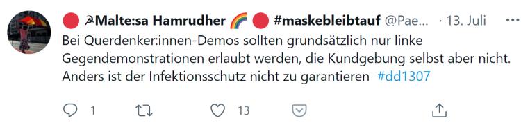 Querdenker-Demos