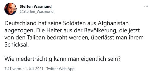 Steffen Wasmund-Niederträchtigkeit
