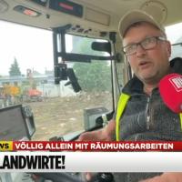 Landwirt berichtet, wie es in Rheinland-Pfalz nach der Hochwasserkatastrophe zuging