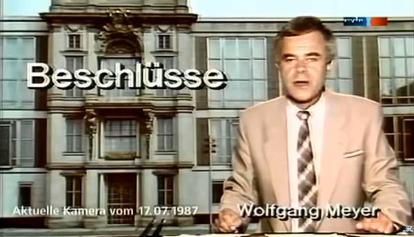 Akutelle Kamera 17.07.1987 Abschaffung der Todesstrafe