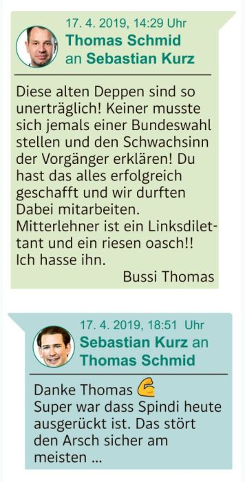 Chat mit Thomas Schmid