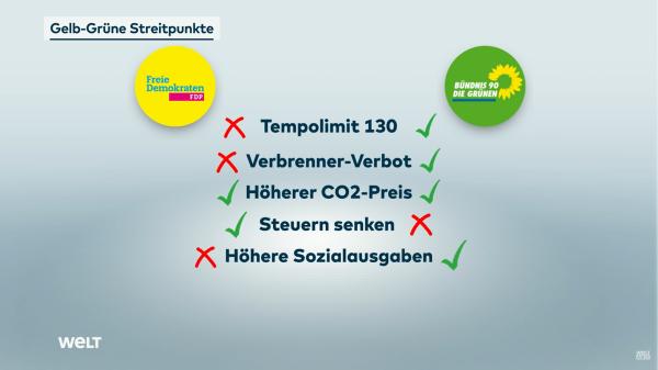 Gelb-Grüne-Streitpunkte