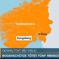 Norwegen: zum Islam konvertierter Däne erschießt fünf Menschen mit Pfeil und Bogen